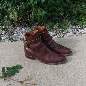 Vintage Chelsea Style Brown Boots